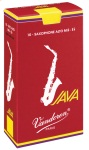 JAVAREDAS Java Red Alto Saxophone Reeds (box of 10) . Vandoren