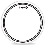 "B12EC2S 12"" EC2 Edge Control Coated SST Drum Head . Evans"