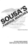 Sousa's Famous Marches (basses) . Marching Band . Sousa