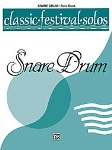 Classic Festival Solos v.1 (unaccompnaied) . Snare Drum . Various