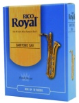 RRBS Baritone Saxophone Reeds (box of 10) . Rico Royal