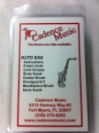 American Way Mk ASCK1390 Cadence Alto Sax Care Kit