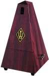 855111 Mahagony Metronome (simulated wood) w/Bell . Wittner