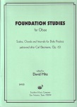 Foundation Studies . Oboe . Hite
