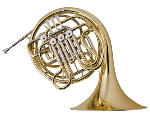H378 Double French Horn Outfit . Holton