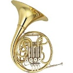 YHR-667D Double French Horn Outfit . Yamaha