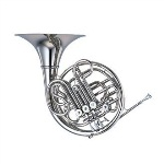 YHR-668NDII Double French Horn Outfit (nickel-silver, detachable bell). Yamaha