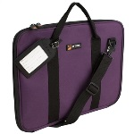 Pro-tec P5PR Music Portfolio Bag (purple) . Protec