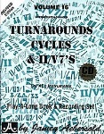 Jazz Turn Arounds Cycles and II/V7's w/CD . Aebersold v.16 . Aebersold