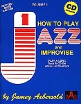 How To Play Jazz & Improvise v.1 w/CD . Any Instrument . Aebersold