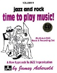 Jazz and Rock, Time to Play Music v.5 w/CD . Any Instrument . Aebersold