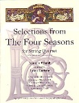 Selections from The Four Seasons . String Quartet . Vivaldi
