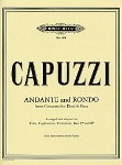 Andante and Rondo . Tuab/Euphonium/Trombone or bass and Piano . Capuzzi