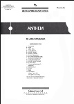 Anthem (score only) . Concert Band . Edmondson