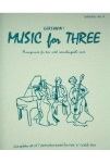 Music for Three No.6: Gershwin . Trio (interchangeable parts) . Gershwin