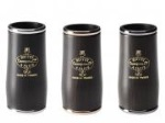 F34023AU ICON Series Clarinet Barrel (gold-plated rings, 66mm) . Buffet