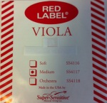 Super Sensitive SSVIOLAD Red Label Viola D String