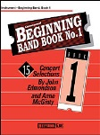 Beginning Band Book No.1 . 2nd Trumpet . Edmondson/McGinty