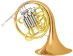 11DRS Double French Horn Outfit (rose brass bell) . Conn