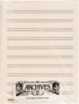 Archives 24 Double Folded Sheets