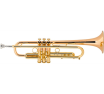 LT190L1B Stradivarius Commercial Series Bb Trumpet Outfit (lacquer, large bore) . Bach