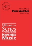 Paris Sketches . Concert Band . Ellerby