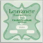 801111 Goldbrokat Violin E String (Loop End) . Lenzner