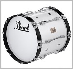"CMB2414/CXN33 Competitor Series Marching Bass Drum (24"") . Pearl"