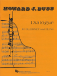 Dialogue . Clarinet and Piano . Buss