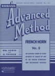 Rubank Advanced Method v.2 . Horn . Voxman/Gower