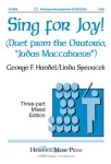 Sing for Joy! . Choir (3 part) . Handel/Spevacek