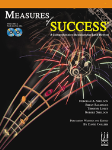 Measures of Success v.2 w/CD . Tuba . Various