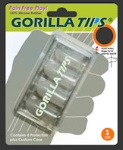 M3 products GT100CLR Gorilla Tips (extra small, clear) . M3