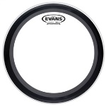 "BD22EMAD EMAD Clear Bass Drum Head (22"") . Evans"