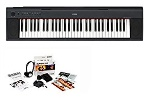 NP32BKIT Piaggero Ultra Portable Keyboard w/Survival Kit (76key) . Yamaha