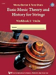 Basic Music Theory and History for Strings v1 . Viola . Various