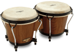 LatinPercussion CP221DW Traditional Bongos (dark wood) . LP