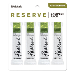 DRS-J30 Reserve Alto Saxophone Sampler Pack (3-3.5, filed) . D'Addario