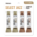 DSJ-J3S Select Jazz Alto Saxophone Sampler Pack (3S,3M filed/unfiled) . D'Addario