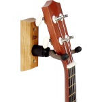 CC01UK-OAK Ukulele/Mandolin Wall Hanger (oak) . String Swing