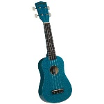 Diamond Head DU-145 Soprano Ukulele w/Bag (Sparkle Blue) . Diamond
