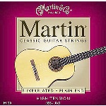 M160 Classical Guitar Strings (silverplated, ball end) . Martin