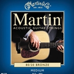 M150 Acoustic Guitar Strings (bronze, medium) . Martin