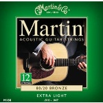 M2600 Martin 12 String Extra Light Guitar Strings