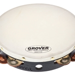Grover T2/GSPH-WB Silver/ Bronze Tambourine w/ Bag