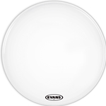 Evans BD30MX1W 30'  White Bass Drum Head