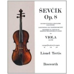 Changes of Position and Preparatory Scale Studies op. 8 . Viola . Sevcik