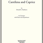 Cantilena and Caprice . Trumpet and Piano . Matthews