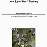 Jesu, Joy of Man's Desiring . Clarinet Quartet . Bach