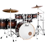 Pearl DMP905P/C260 Decade Maple 5 Piece Drum Set w/Hardware (satin brown burst)